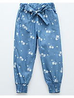 Girls' Going out Casual/Daily Print Pants Summer