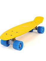 Стандартные скейтборды 22 дюймычерный увядает Белый Оранжевый Серебристый Коричневый