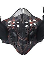 personalizado moda anti-embaçamento poeira inteligente Bluetooth música máscara óssea chamada de suporte fone de ouvido de condução para o