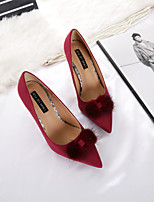 Women's Heels Spring Fall Comfort Suede Dress Stiletto Heel