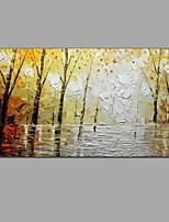 Pintados à mão Paisagem Horizontal,Moderno Clássico 1 Painel Tela Pintura a Óleo For Decoração para casa