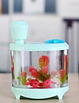 USB аквариум лампа Увлажнитель украшения дома аквариум лампы Распылитель аквариум красочные светящиеся огни очистки