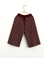 Girls' Casual/Daily Solid Striped Shorts-Cotton Summer Spring Fall