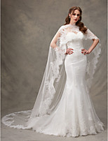 Women's Wrap Capes Tulle Netting Lace Wedding Party/ Evening Lace