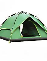 3-4 человека Двойная Однокомнатная ПалаткаПешеходный туризм Походы Путешествия-зеленый