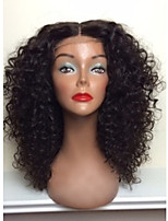Hot Sale!! 100% Brazilian Human Hair Lace Front Wigs Natural Blank Kinky Curly Lace Front Wig For Woman With Baby Hair