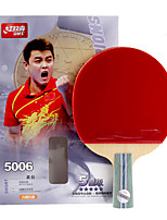 5 Stars Table Tennis Rackets Ping Pang Wood Short Handle Pimples Indoor Performance Practise Leisure Sports-#