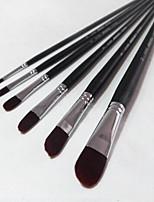 1 Set Paint Pen Gouache Paintbrush 6 pieces