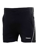Kid's Running Shorts Comfortable Summer Badminton Polyester Loose Leisure Sports Athleisure Activewear Black Solid