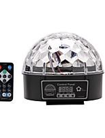 u'king® dmx512 кристалл магический шар света этапа автоматический режим DMX звука с пульта дистанционного управления 1шт