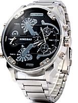 Homens Adolescente Relógio Esportivo Relógio Militar Relógio Elegante Relógio de Moda Relógio de Pulso Chinês QuartzoCalendário Dois