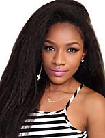 мода стиль густые волосы курчавые прямой парик 100% человеческих волос бразильские волосы полный парик натуральный цвет курчавый