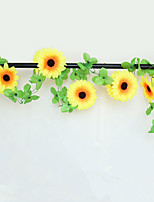 1 Филиал Шелк Подсолнухи Искусственные Цветы 200