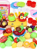 Ролевые игры Игрушка кухонные наборы Игрушка Foods Игрушки Хобби и досуг PVC Мальчики Девочки´
