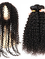One Pack Solution Brazilian Texture Kinky Curly 12 Months 4 Pieces hair weaves