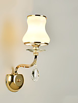 E14 Modern/Contemporary Electroplated Feature for CrystalAmbient Light Wall Sconces Wall Light