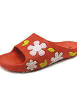 Damen-Slippers & Flip-Flops-Kleid Lässig-Kunstleder PU-Keilabsatz-Mary Jane-Schwarz Rot Grün