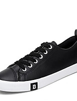 Men's Sneakers Spring Comfort PU Casual White Black