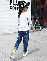 Girls' Casual/Daily Holiday Solid Pants-Others Summer