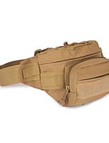 9 L Поясные сумки Отдыхитуризм Охота На открытом воздухе Пригодно для носки Коричневый Рубашечная ткань