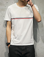 The new men's short-sleeved T-shirt crossbar Japanese model
