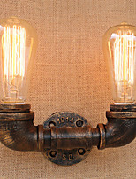 AC 110-130 AC 220-240 80 E26/E27 Country Retro Painting Feature for Mini Style Bulb Included,Ambient Light Wall Sconces Wall Light