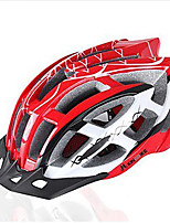 Sports Unisex Bike Helmet 21 Vents Cycling Cycling One Size PC Red