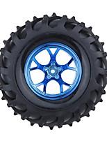 Geral RC Tire Pneu RC Carros / Buggy / Caminhões Azul Borracha Plástico