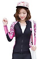 SBART® Women's Wetsuit Jacket Compression Sunscreen Diving Suit Long Sleeve Tops-Swimming Surfing Spring Summer Fall/Autumn Winter Fashion