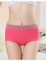 Push-Up Color Block C-strings PantiesCotton