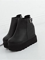 Women's Boots Creepers PU Casual Creepers
