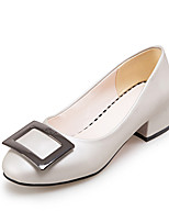 Femme-Bureau & Travail Habillé Soirée & Evénement-Argent Rouge Vert-Gros Talon Block Heel-club de Chaussures-Chaussures à Talons-