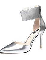 Women's Heels Spring Summer Comfort Leather Dress Stiletto Heel