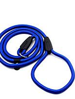 Chien Laisses Ajustable/Réglable Solide Nylon Noir Rouge Bleu
