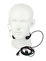365 Accessories PTT Throat Microphone Mic Earpiece Universal Walkie Talkie headphones