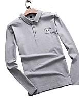 Homens Camiseta Respirável Secagem Rápida Primavera Verão Branco Cinzento Claro Preto Azul