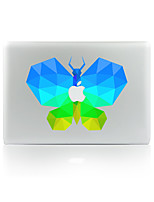 For MacBook Air 11 13/Pro13 15/Pro With Retina13 15/MacBook12 Color Butterfly Decorative Skin Sticker Glow in The Dark