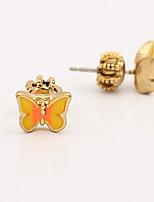 Ohrstecker Kristall Tier Design individualisiert Euramerican Simple Style Gold Schmuck Für Hochzeit Party Geburtstag 1 Paar