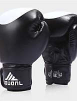 Боксерские перчатки для Бокс Полный палец Защитный PU Черный Красный