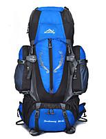 55 L mochila Alpinismo Esportes Relaxantes Acampar e Caminhar Á Prova-de-Chuva Á Prova-de-Pó Respirável Multifuncional