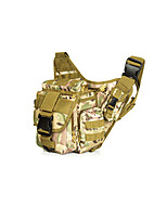8 L Waist Bag/Waistpack Camping & Hiking Hunting Outdoor Wearable Camouflage Nylon