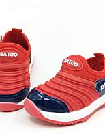 Красный Синий-Девочки-Для прогулок Повседневный-Дерматин-На низком каблуке-Обувь для малышей-На плокой подошве