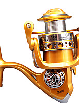 Fishing Reel Spinning Reels 5.2:1 10 Ball Bearings Right-handed General Fishing-GF5000