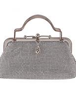 L.WEST Woman Fashion Diamonds Evening Bag