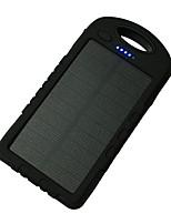 8000mAhPower Bank Внешняя батарея Зарядка от солнца Несколько разъемов Подсветка 8000 1000 Зарядка от солнца Несколько разъемов Подсветка