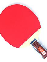 1 Etoile Ping Pang/Tennis de table Raquettes Ping Pang Bois Manche Court Boutons Intérieur Utilisation Exercice Sport de détente-#