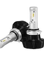 9006 25w / 2pcs levou farol kit lâmpadas cob chip 5000lm conduziu farol de carro lâmpadas conversão kit 9v-32v substituir para lâmpadas de