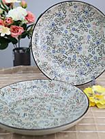 Arika Flowery Styled Porcelain Dinning Plate Dinnerware