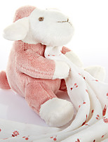 French Baby Yarn Towel Baby Dolls  Children Towel to Wipe Your Mouth Slobber Molar Doll Toys