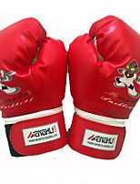Boxing Gloves for Boxing Full-finger Gloves Breathable Wearproof Protective PU Red Blue